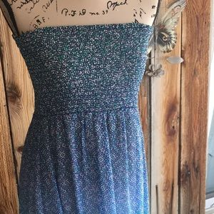 Strapless Maxi Dress and vest.